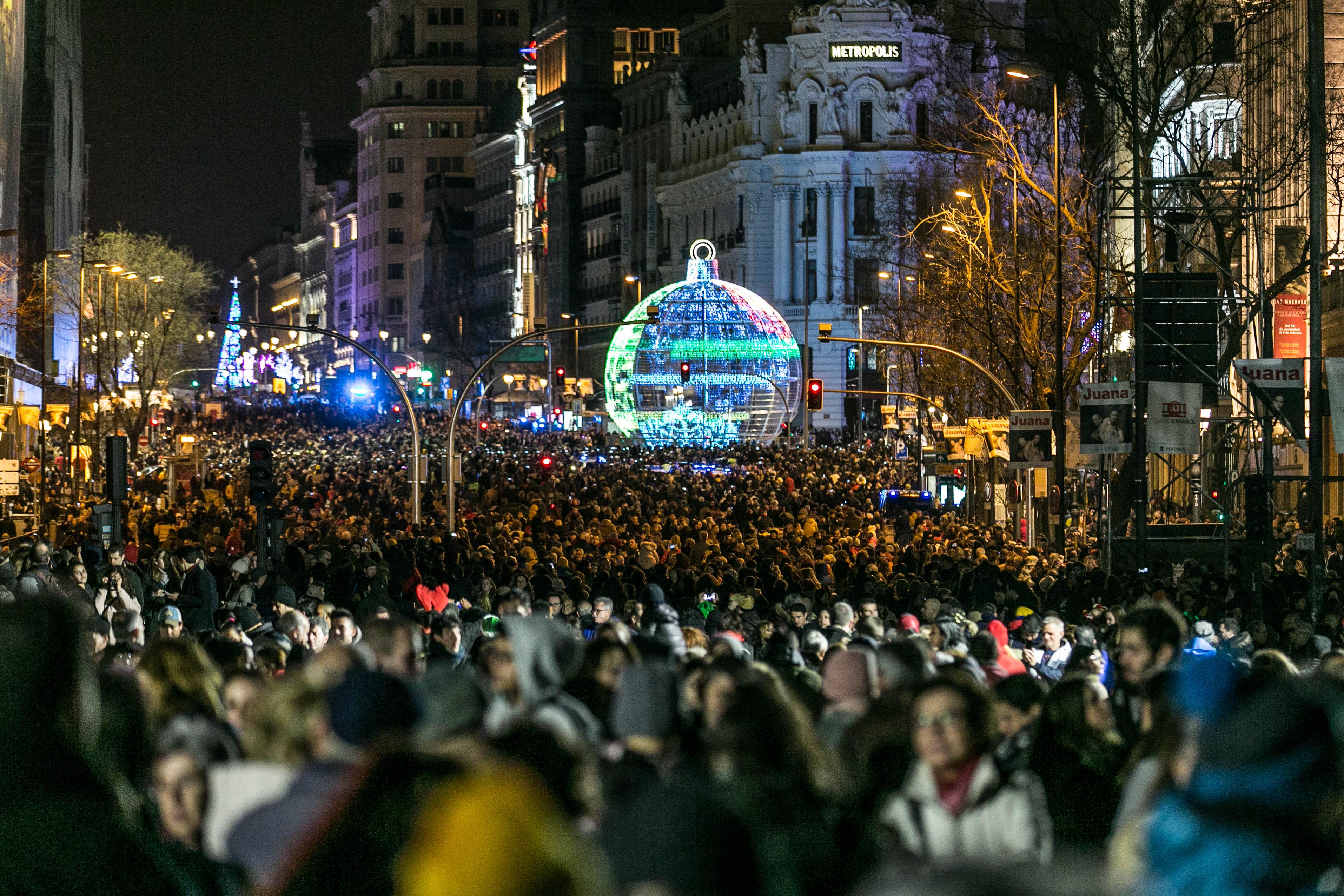 La Navidad de Madrid.